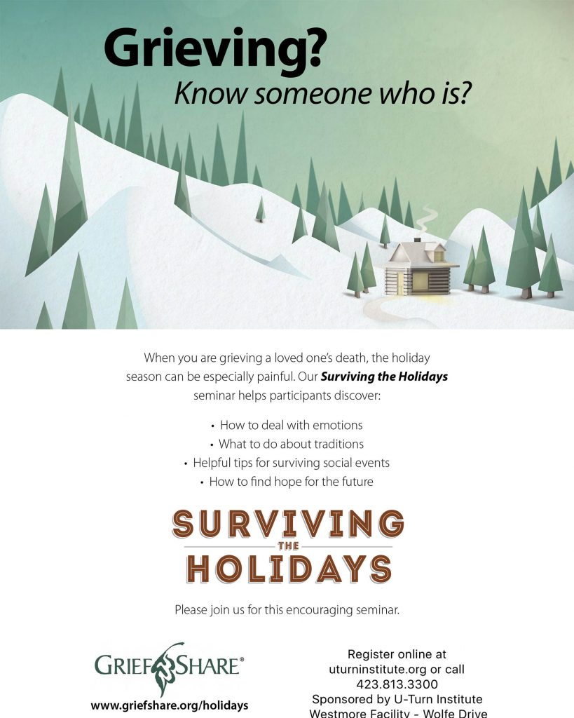Surviving the Holidays - Flyer